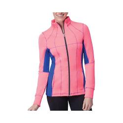 Women's Fila Premier Jacket Coral Cake/Navy Power/Ebony