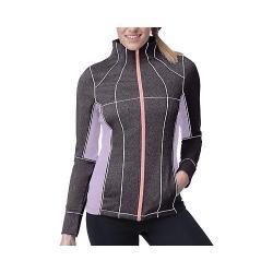 Women's Fila Premier Jacket Ebony/Lavender Field/Furo Coral