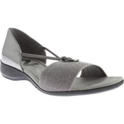 Women's Anne Klein Kameko Sandal Pewter/Pewter Synthetic