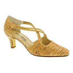 Women's Rose Petals by Walking Cradles Ramsey Pump Gold Cork