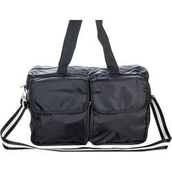 Sacs of Life Double Pocket Duffle Black