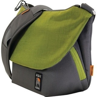 "Ape Case Tech Carrying Case (Messenger) for 11"" Camera - Green, Gray"