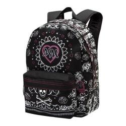 Women's Metal Mulisha Omen Backpack Black