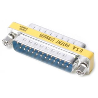 StarTech.com DB25 Slimline Gender Changer M/M