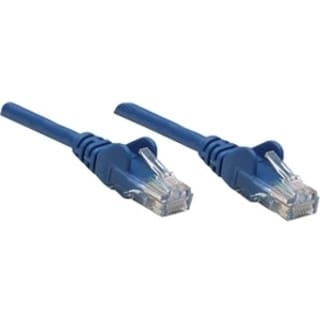 Intellinet Patch Cable, Cat5e, UTP, 3', Blue