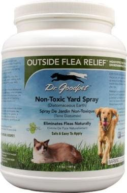 Dr. Goodpet Outside Flea Relief - All Natural Kills Fleas, Ticks & Insects - Non-Toxic Safe & Effective