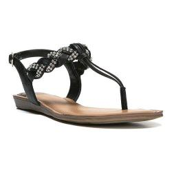 Women's Fergalicious Shelly Sandal Black Synthetic Leather