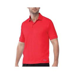 Men's Fila Bravo Polo Shirt Chinese Red