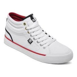 Men's DC Shoes Evan Smith Hi Skate Shoe White