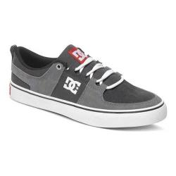 Men's DC Shoes Lynx Vulc Grey/Grey/Red