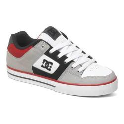 Men's DC Shoes Pure Grey/Black/Red