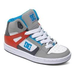 Boys' DC Shoes Rebound Grey/Grey/Red