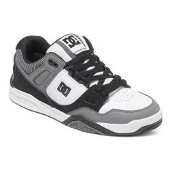 Men's DC Shoes Stag 2 Skate Shoe Black Stripe
