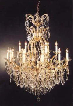 Swarovski Crystal Trimmed Chandelier! Chandelier Crystal Lighting