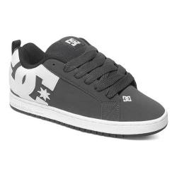 Men's DC Shoes Court Graffik Grey/White