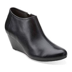 Women's Clarks Brielle Abby Black Leather