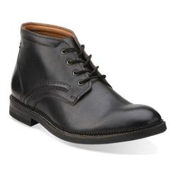 Men's Clarks Bushwick Mid Black Leather
