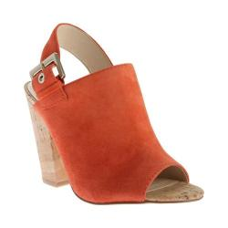 Women's Nine West Orlanda Slingback Red Orange Suede