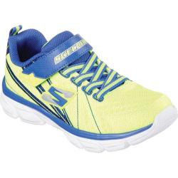 Boys' Skechers Advance Hyperloop Sneaker Yellow/Blue
