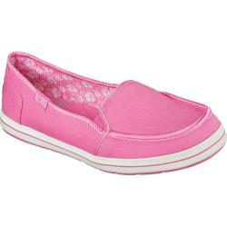 Women's Skechers BOBS Flexy Kick Start Slip On Pink