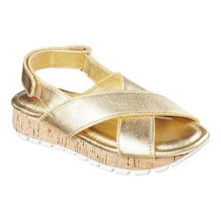 Women's Skechers Footsteps Jagged Star Slingback Sandal Gold