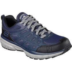 Men's Skechers Geo Trek Trail Shoe Navy/Gray