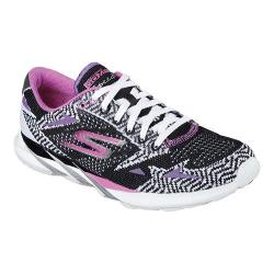 Women's Skechers GOmeb Speed 3 2016 Running Shoe Black/White