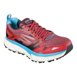 Men's Skechers GOtrail Ultra 3 Running Shoe Red/Black