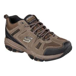 Men's Skechers Relaxed Fit Cross Court TR Open Country Lace Up Brown/Black