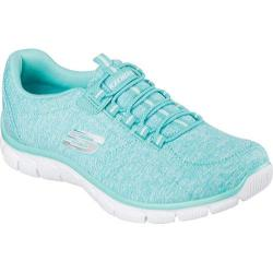 Women's Skechers Relaxed Fit Empire Heart To Heart Bungee Lace Shoe Turquoise