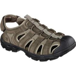 Men's Skechers Relaxed Fit Gander Selmo Fisherman Sandal Olive