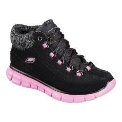 Girls' Skechers Synergy Strong Will High Top Black/Hot Pink