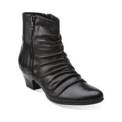 Women's Clarks Limbo Dance Black Leather