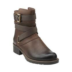Women's Clarks Orinocco Sash Brown Oily Leather