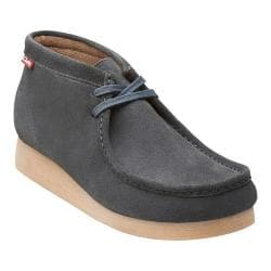 Men's Clarks Stinson Hi Navy Cow Suede