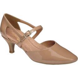 Women's Aerosoles Ardent Heel Nude Faux Patent