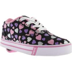 Children's Heelys Launch Black/Multi Hearts