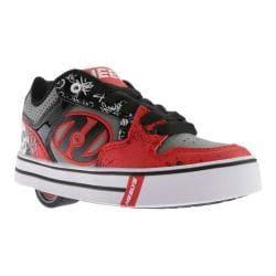 Children's Heelys Motion Plus Roller Shoe Red/Black/Grey/Graphics