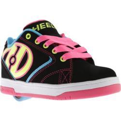 Children's Heelys Propel 2.0 Black/Neon Multi