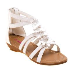 Girls' Josmo O-8102 Gladiator Sandal White