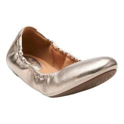 Women's Clarks Grayson Erica Gold Metallic Leather