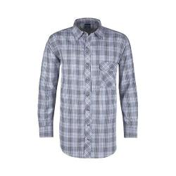 Men's Propper Covert Button-Up Long Sleeve Shirt Ocean Blue Plaid