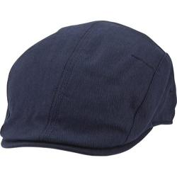 Men's Ben Sherman Herringbone Driving Cap Staples Navy