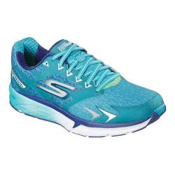 Women's Skechers GOrun Forza Los Angeles 2016 Lace Up Shoe Teal