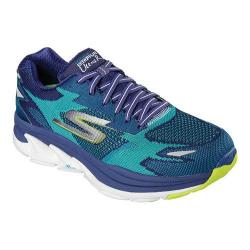 Men's Skechers GOrun Ultra Road Los Angeles 2016 Lace Up Shoe Blue