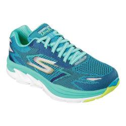 Women's Skechers GOrun Ultra Road Los Angeles 2016 Lace Up Shoe Teal