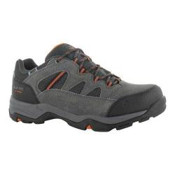 Men's Hi-Tec Bandera II Low Waterproof Boot Charcoal/Graphite/Burnt Orange Suede/Synthetic