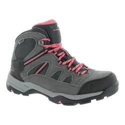Women's Hi-Tec Bandera II Mid Waterproof Boot Charcoal/Graphite/Blossom Suede/Synthetic