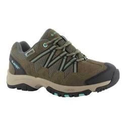 Women's Hi-Tec Florence Low Waterproof Shoe Taupe/Mint Suede