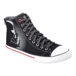 Men's Skechers Star Wars Legacy Vulc Vader Reflective High Top Black/White